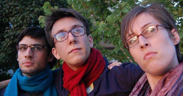 David Kornfeld, Alex Higgin-Houser, and Laura Stratford